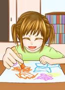 お絵描き幼女
