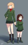 カチューシャ(L)とノンナ(S)