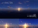 ++skies; 026 [16k8k/8k4kスカイドーム素材配布]