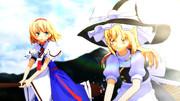 【東方MMD】アリスを箒に乗せてみたい。