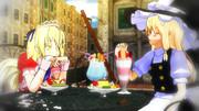 【東方MMD】魔界で夢子と買い物に行ったそうです。