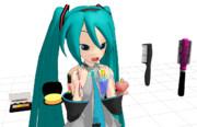 【MMDモデル配布】メイク道具【ムーンプリズムパワーメイクアップ!】