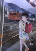 通学列車は夜明け前