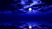 【MMDステージ配布】静穏な月夜 WW2【スカイドーム】