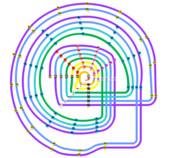 ニホニウム他4元素命名記念 こだわりの周期表