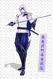 【MMDモデル配布あり】黒鬼式竹中半兵衛 ver2.0