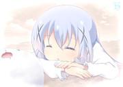 居眠りチノちゃん