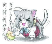 マリモ提督と清霜ネコ