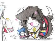鳳翔ネコと大和ネコ