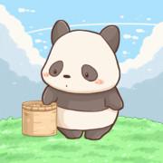 パンダがパンをなげるだけ