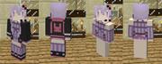 【Minecraft】自作スキンその2 結月ゆかり