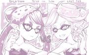 アオリちゃん vs ホタルちゃん