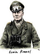 Erwin Rommel 模写