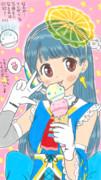 虹色ポールンアイス、7つの味で新発売♪(嘘w)