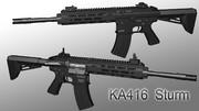 【自動小銃】KA416 Sturm/ シュトゥルム【MMD武器】