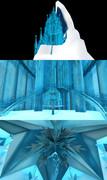 MMD Elsa's palace アナと雪の女王