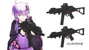 【MMDモデル配布】MP5ST
