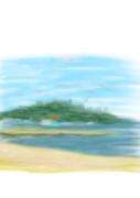 シーサイドももちから見る海の光景