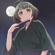 涼ちんこんやは月が綺麗だね