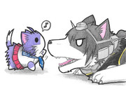 長門犬と酒匂ネコ