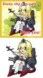QE級戦艦2番艦 Warspite 「Open Fire!」
