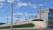新幹線交流架線柱