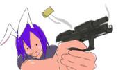 偽物だが銃を撃ちそうなHSIさん