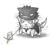 ネズミ提督とヲ級ネコ