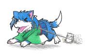 ネズミ提督と蒼龍犬