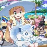 アニメのリーリエちゃんの相棒は白ロコンらしい