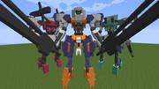【minecraft】ユーゴーに武装を付けてみた:その3【jointblock】