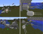 【JointBlock】霧島の艤装を作った。【Minecraft】