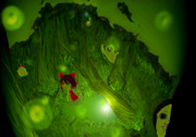 幻想的な森の奥