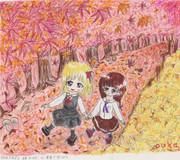 ルー里香で秋っぽく
