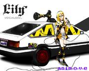 車を機材に、新たな歌姫は歌う。