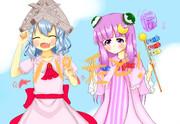 【5月】東方卓上カレンダー合同企画『紫季奏環 弐』【レミパチェ】