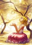 ☆鏡音と落ち葉☆