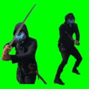 ガスマスク剣士兄貴2.GB