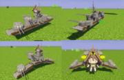 金剛型艤装、就航しました(`・ω・´)ゞ【JointBlock】【Minecraft】