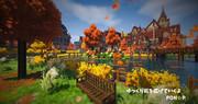 【Minecraft】秋が来た