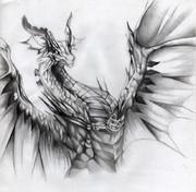 Shadowverse 光輝ドラゴン【模写】