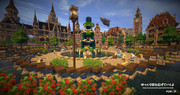 【Minecraft】噴水広場