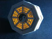 バルサ材で発光するミニ八卦炉作ってみた
