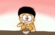 そばを食べるNBT.gif