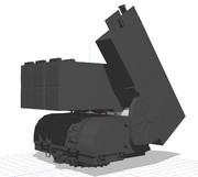 【モデル配布】ASROC MK112発射機