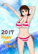 2017年 新年画像(2)