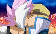 二人は禁断のキスをして終了