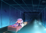 海底トンネル寝台トロッコの旅inMinecraft