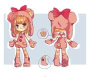 ピンクベアー衣装