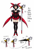 魔法少女の魔法の杖の設定